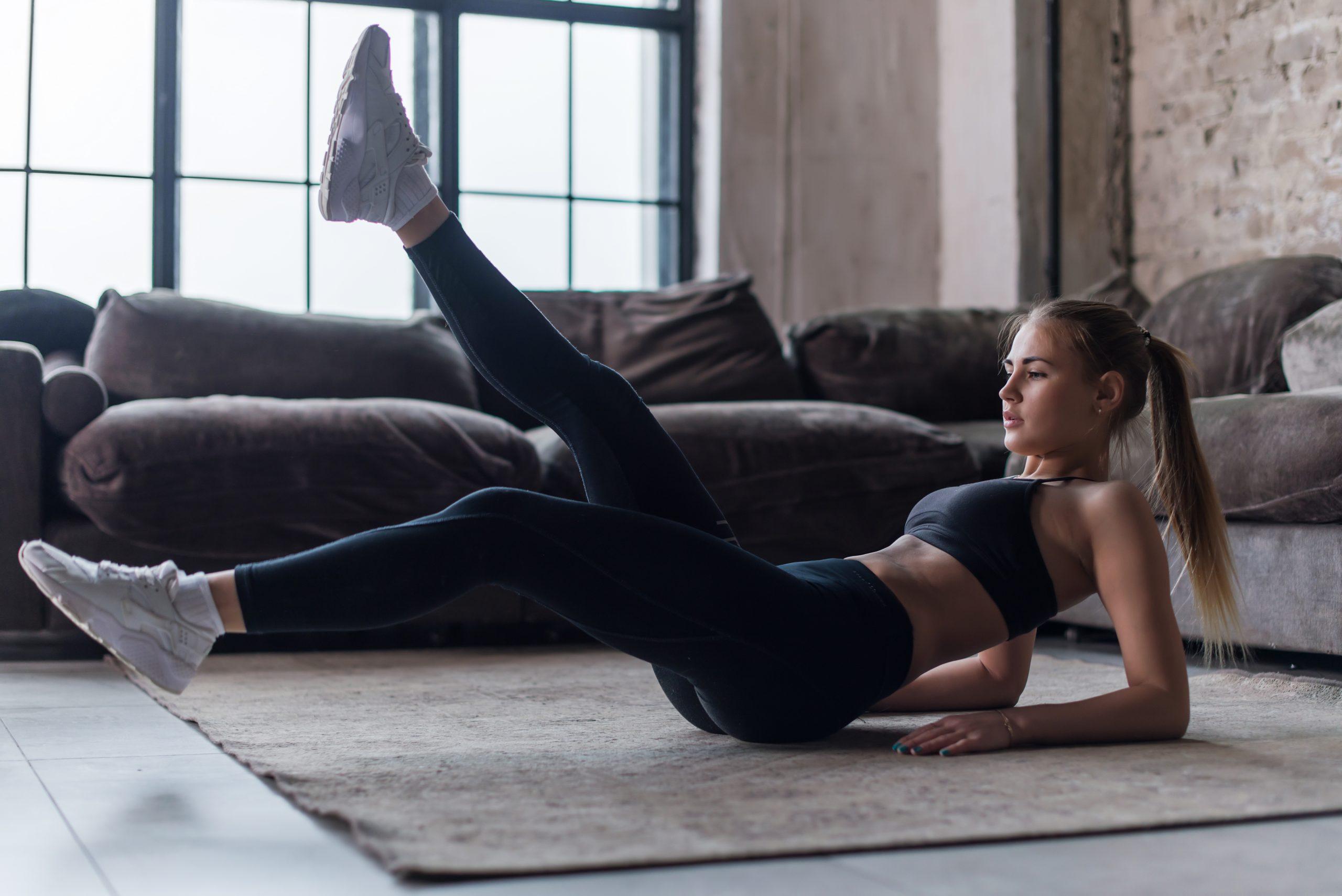 ejercicios de rutina en casa